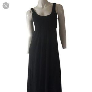 Theory Galiana Slinky Tie Maxi Long Tank Dress L